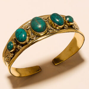 New-Year-Sale-Offer-925-Tibetan-Brass-Free-Shipping-Cuff-Turquoise-Jewellery