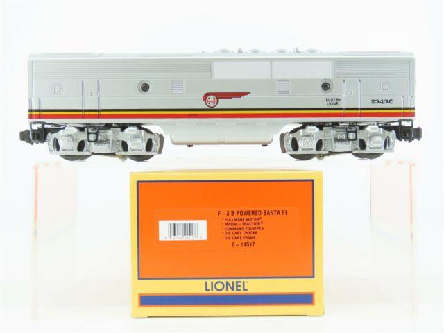 O Gauge 3-Rail Lionel 6-14517 ATSF Santa Fe F7B Diesel Locomotive #2343C w/ TMCC