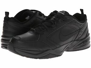 NIKE-AIR-MONACRH-IV-MENS-BLACK-RUNNING-4E-XWIDE-SHOES-FREE-POST-AUSTRALIA