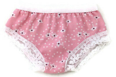 """Debs WHITE w//Pink Underwear Panties Doll Clothes For 18/"""" American Girl"""