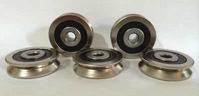 12pcs 6mm V Groove Sealed Ball Bearings vgroove bearing 630VV 6*30*8