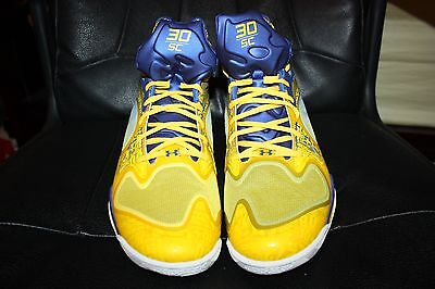 super popular 673e0 30db3 NIB DS Under Armour Spawn Anatomix Stephen Curry PE The Zone 2 TIME NBA MVP  RARE