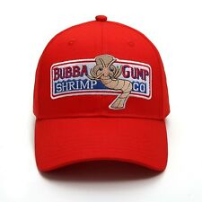 2019 NEW Bubba Gump Shrimp CO Hat Forrest Gump Costume Embroidered Snapback  Cap 092cfd83a3bb