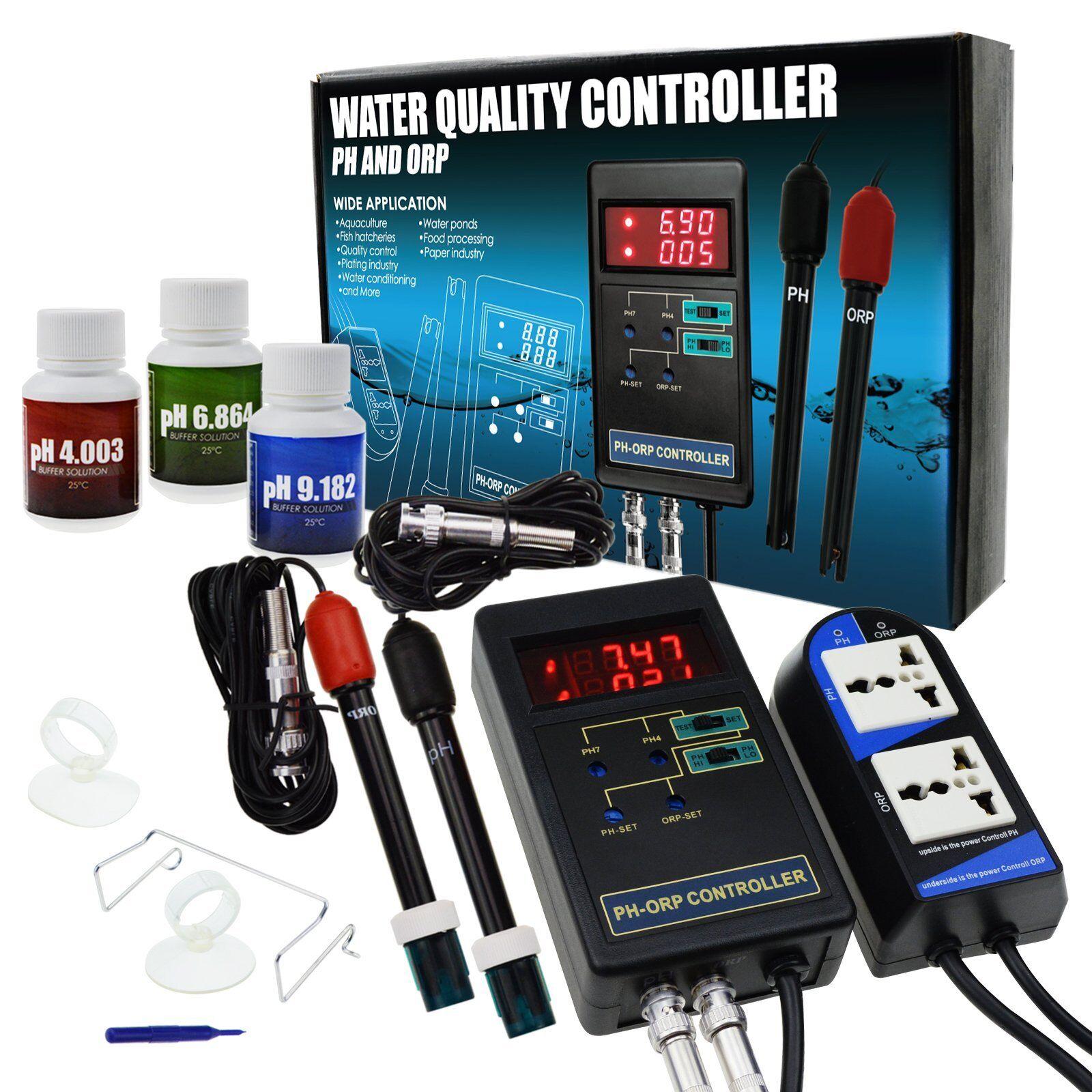 & PH ORP REDOX controller di qualità qualità qualità dell'acqua metro Tester Acquario Idroponica Tank 2d23db
