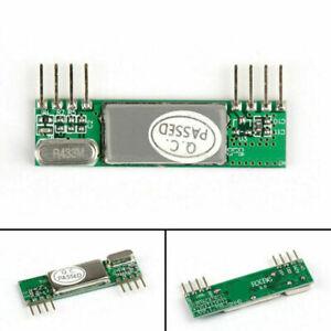 RXB6 433Mhz Superheterodyne Sans Fil Récepteur Module Steady Pour Arduino/ARM A