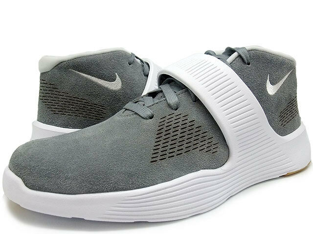 NEW (Size 8.5) Mens NIKE Ultra XT Cool Grey Pure Platinum-White 819671 002