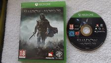 MIDDLE-EARTH SHADOW OF MORDOR XBOX ONE V.G.C. ( action/adventure & fighting )