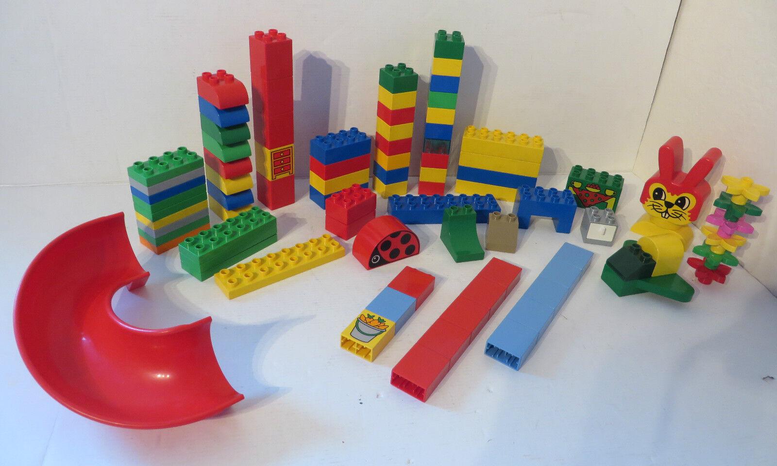 LEGO DUPLO  großes Set 86 Teile Sondersteine Bausteine Tiere Zubehör Konvolut kg