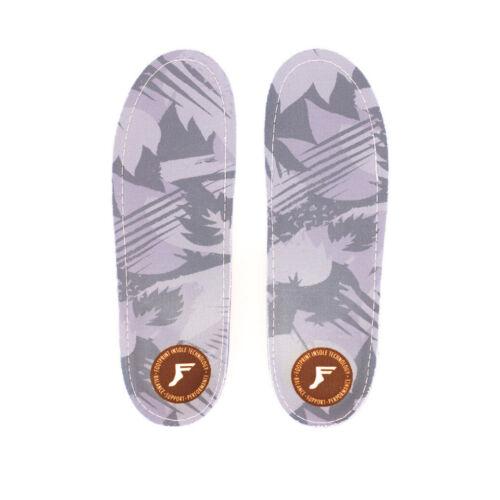 Chaussures décontractées pour homme Chaussures pour homme Empreinte Gamechanger moulables Custom Orthotic Profil Bas Gris Camo Semelles Intérieures