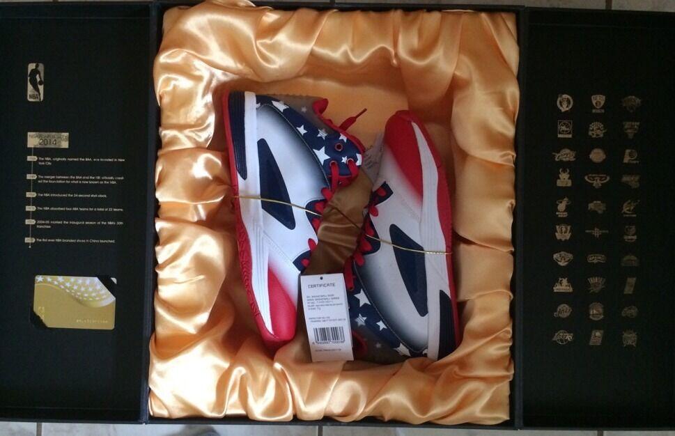 2014 NBA Anniversary Basketball Shoe Size 7.5 New in Box