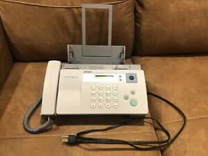 Sharp UX-B20 Inkjet Fax Tested No Ink