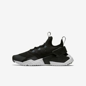 Fácil construcción naval apelación  NIKE AIR HUARACHE DRIFT SE BOYS GIRLS BLACK ANTHRACITE TRAINER RUN UK 5.5  886737856611 | eBay