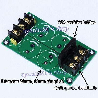 High-power Single Bridge 25A Rectifier Filter Power Supply Board For Amplifier