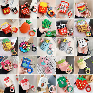 Favorite Cute Cartoon Silicone Airpods Case Cover For Apple Airpods Accessories Ebay