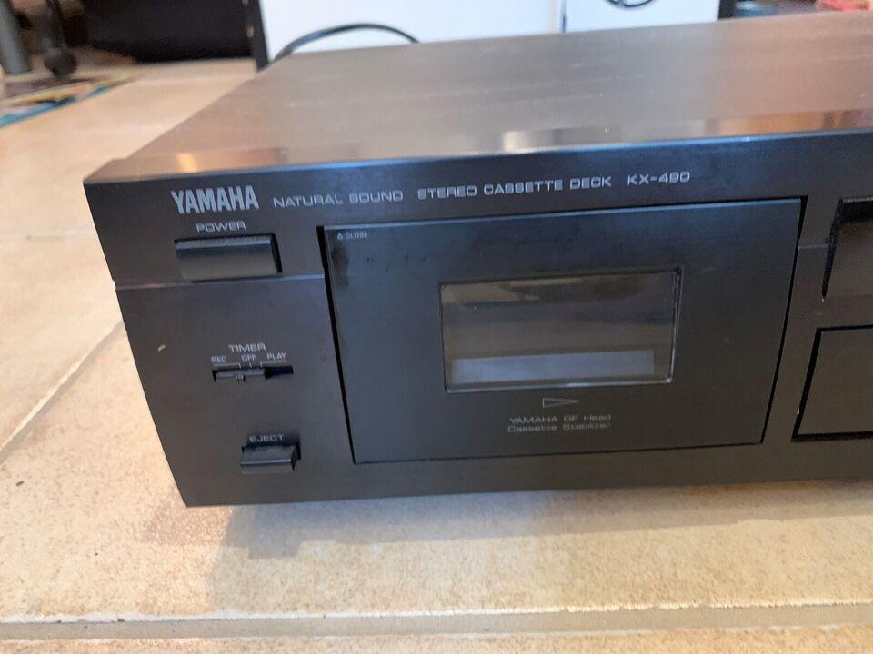 Båndoptager, Yamaha, KX-490