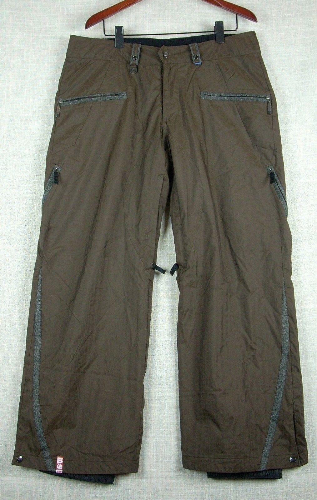 NWOT  BONFIRE   RAINIER Womens Brown Snowboard Pants size L