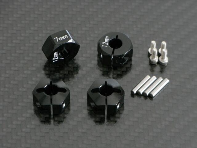 Mitnehmer Radmitnehmer für Tamiya XC / CC-01 CC01 Chassis Alu Tuning 7mm breit