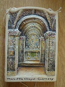 Vintage-Osborne-Ivorex-Wall-Plaque-The-Little-Chapel-Guernsey