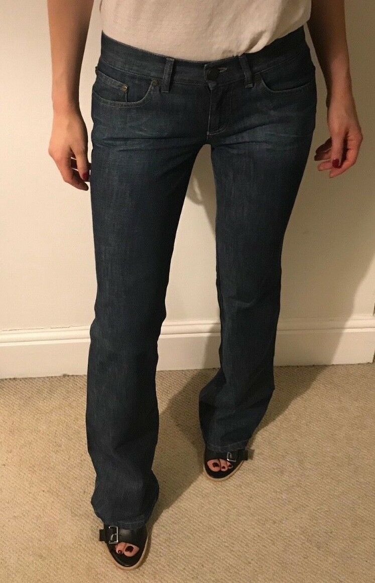 Alexander McQueen flattering fit boot cut jeans IT 40. Perfect condition