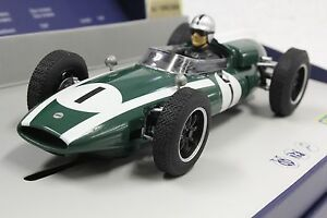 Scalextric C3658A Cooper Climax Jack Brabham, #1 Limited Edition 1/32 Slot Car
