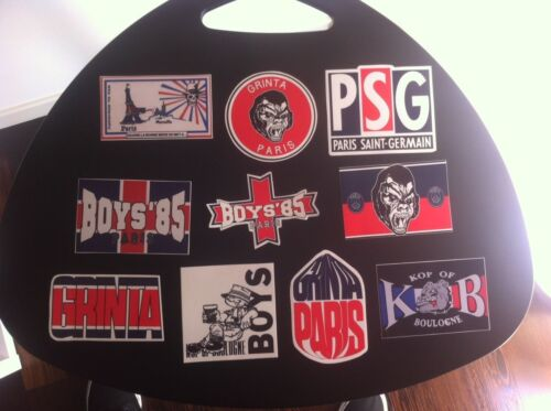 GERMAIN PSG 10 ADESIVI ULTRAS PEGATINA AUFKLEBER STICKERS BOYS PARIS ST