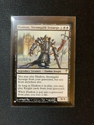 Scourge of the Throne Foil x1 Magic the Gathering 1x Mystery Booster Retail Ex