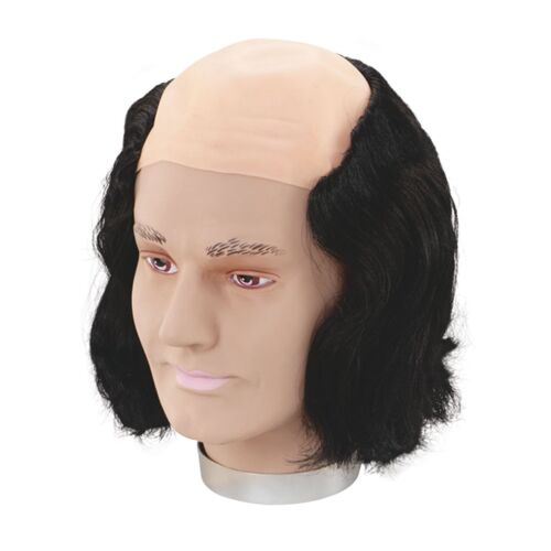 HALLOWEEN HORROR SCARY MAX WALL WIG Adults Mens Fancy Dress Costume Accessory