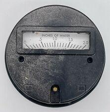 Dwyer Minihelic Pressure Gage Model No 992389 New Old Stock