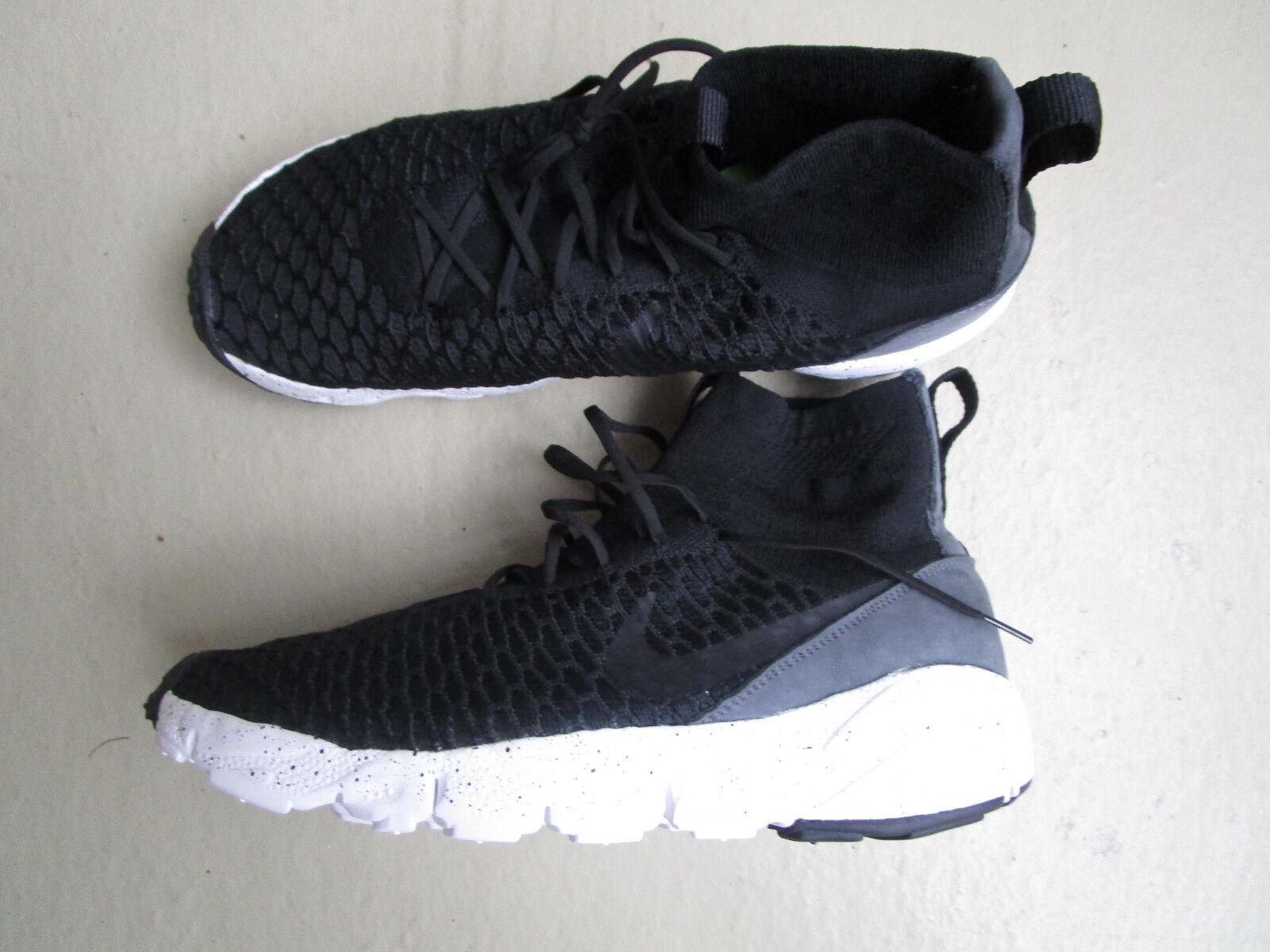 Nike Air Footscape / Magista Flyknit 46 Noir / Footscape Noir -Dark Gris -Volt d445d0