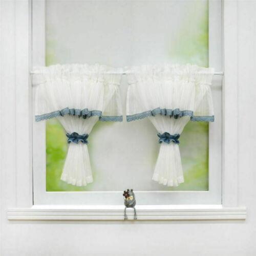Scheibengardine Bistrogardine Küchegardinen Fenstergardinen modern Leinen