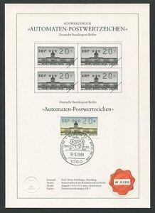 Blackprint Ltd Z1508 Halten Sie Die Ganze Zeit Fit Limitiert ! Angemessen Berlin Atm Schwarzdruck 1988 20 Pfg