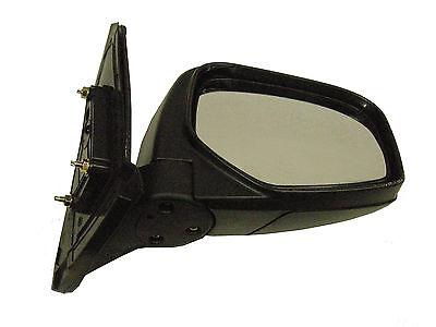 03//2006+ Mitsubishi L200 2.5DID B40 Pick Up Door//Wing Mirror Black Manual R//H