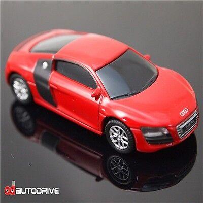 AutoDrive Audi R8 V10 Car 8 GB USB Flash Drive  Memory Stick Pen Drive ( Red )