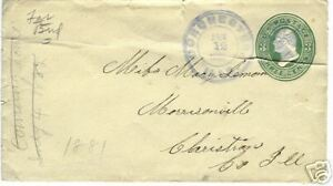 1881-three-cents-CANCELED-STAMP-LETTER-COVER-ILLS