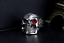 Anello-Massiccio-Teschio-Pirata-Uomo-Donna-Unisex-Acciaio-Inox-Steel-Skull-Punk miniatura 3