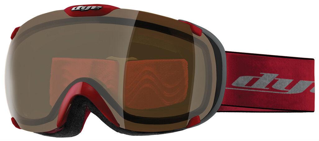 New Dye Snow T1 HD Goggles Red BMX Retail 129.95