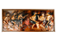 Kupfer-Bild-Maitre-Mwenze-Mungolo-Afrikanische-Volkskunst-Zaire-3D-Relief-1981 Indexbild 1
