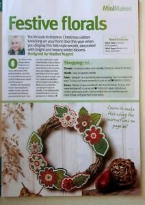 A4-Christmas-cross-stitch-chart-Festive-florals-from-a-magazine