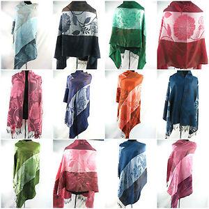 US Seller-lot of 12 wholesale retro bohemian pashmina scarf wrap shawl
