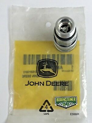 John Deere Genuine OEM Hydraulic Quick Connect Coupler AM115139