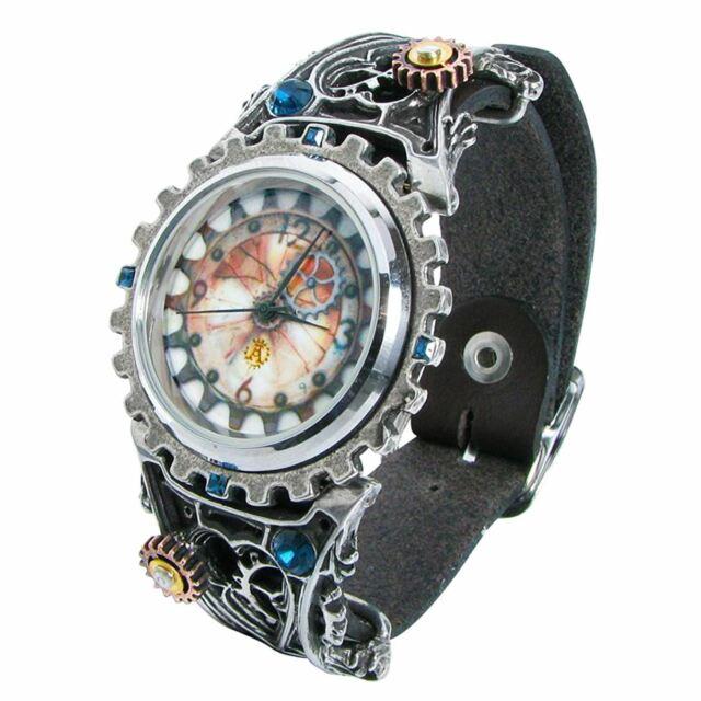 Estaño alquimia gótica Telford chronocogulator Reloj Reloj En Caja