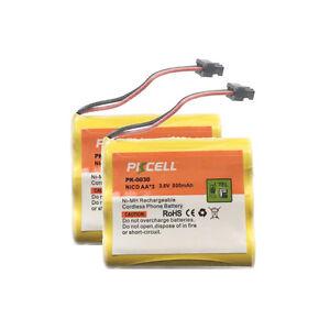 2-x-Uniden-BT905-BT-905-Cordless-Home-Phone-Rechargeable-Battery-HHR-P505-SG1701