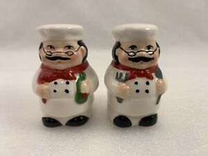 Fat Chef Kitchen Salt And Pepper Shakers Novelty Decoration Home Decor Item Ebay