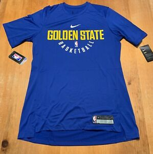 size 40 5f788 9a458 Nike Dry Golden State Warriors Practice Jersey Shirt Mens ...