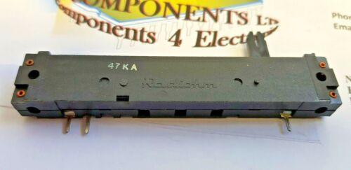 RADIOHM SLIDER // FADER  POTENTIOMETER  47KA  //Travel App:58mm  Stk Ref 026
