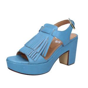 Scarpe donna SHOCKS sandali blu pelle BY402 zooode blu Pelle Orden Libre Del Envío Tienda En Línea Barato Compra En Línea fligji