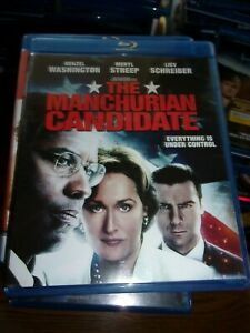 THE MANCHURIAN CANDIDATE-  BLU-RAY  ONLY - WATCHED ONCE!!