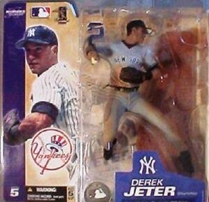 "Mcfarlane - MLB Série 5 - Derek Jeter New York Yankees 6   Mcfarlane - Mlb Series 5 – Derek Jeter New York Yankees 6"" Action Figure 787926711189"