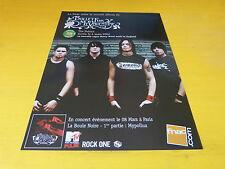 BULLET FOR MY VALENTINE - Publicité de magazine / Advert THE POISON !!!!!!!