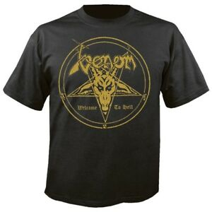 Musik Venom Welcome To Hell T-shirt